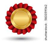 golden premium quality red best ...   Shutterstock .eps vector #583359562