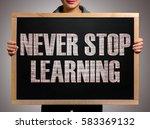 girl  manager  student ... | Shutterstock . vector #583369132