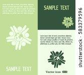 vector icon graphic teamwork... | Shutterstock .eps vector #583379596
