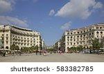 thessaloniki. greece. 27... | Shutterstock . vector #583382785