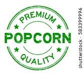 grunge green premium quality... | Shutterstock .eps vector #583399996