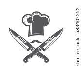 monochrome illustrations of... | Shutterstock .eps vector #583402252