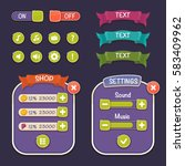 cartoon game design   vector