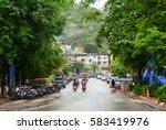 krabi  thailand   jun 21  2016. ...   Shutterstock . vector #583419976