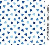 watercolor seamless pattern...   Shutterstock . vector #583428892