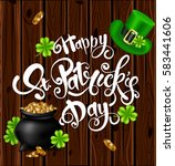 greeting card design with...   Shutterstock .eps vector #583441606