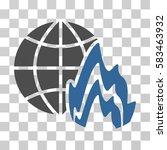 global fire vector pictogram....   Shutterstock .eps vector #583463932