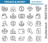 finance   money icons.... | Shutterstock .eps vector #583471642