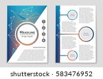 abstract vector layout... | Shutterstock .eps vector #583476952