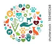vector illustration of... | Shutterstock .eps vector #583485268