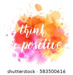 watercolor imitation background ... | Shutterstock .eps vector #583500616