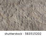 grey brown arid cracked lumpy... | Shutterstock . vector #583515202