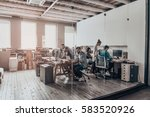 business team.  group of young... | Shutterstock . vector #583520926