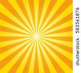 sun burst shining background... | Shutterstock .eps vector #583561876