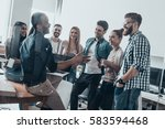 business communications.  group ... | Shutterstock . vector #583594468