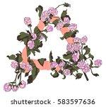 dreamcatcher  | Shutterstock .eps vector #583597636
