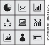 set of 9 editable analytics...