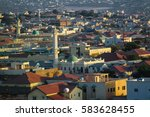 aerial view to hargeisa ... | Shutterstock . vector #583628455