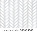 vector seamless decorative... | Shutterstock .eps vector #583685548