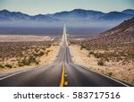 classic panorama view of an... | Shutterstock . vector #583717516