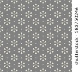 seamless abstract pattern. grey ... | Shutterstock .eps vector #583750246