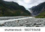 franz josef glacier   Shutterstock . vector #583755658