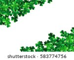 saint patricks day background... | Shutterstock .eps vector #583774756