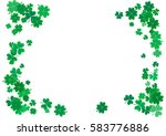 st. patrick's day background... | Shutterstock .eps vector #583776886