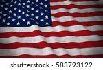 grunge flag of the united... | Shutterstock . vector #583793122