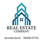 real estate  building ... | Shutterstock .eps vector #583815742