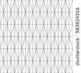 minimalistic thin line seamless ... | Shutterstock .eps vector #583824316