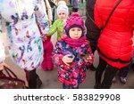 saint petersburg  russia  ...   Shutterstock . vector #583829908