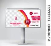 billboard design  multipurpose ... | Shutterstock .eps vector #583833238