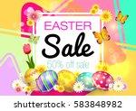 easter. sale. | Shutterstock .eps vector #583848982