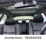 leather interior design  car... | Shutterstock . vector #583868338