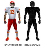 American Football Player And...