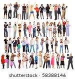 hi res mega group of 60... | Shutterstock . vector #58388146