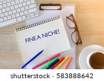 business concept   top view... | Shutterstock . vector #583888642