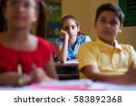 young people and education.... | Shutterstock . vector #583892368