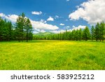 arxan natural scenery.the photo ... | Shutterstock . vector #583925212