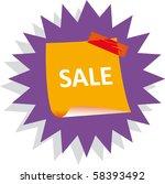 sticker | Shutterstock .eps vector #58393492