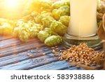 Light Beer Malt  Hops  Barley...