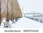 old port   montreal canada | Shutterstock . vector #583951042