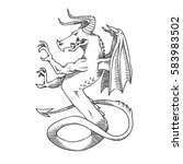 Vector Image Of Heraldic...