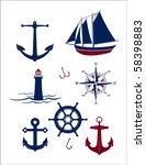 A Collection Of Vector Nautica...