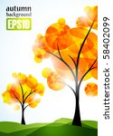 autumn background  eps10 | Shutterstock .eps vector #58402099