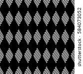 seamless vector abstract... | Shutterstock .eps vector #584073052