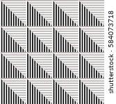 seamless vector abstract... | Shutterstock .eps vector #584073718