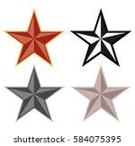 star symbol  | Shutterstock .eps vector #584075395