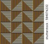 seamless vector abstract... | Shutterstock .eps vector #584076232